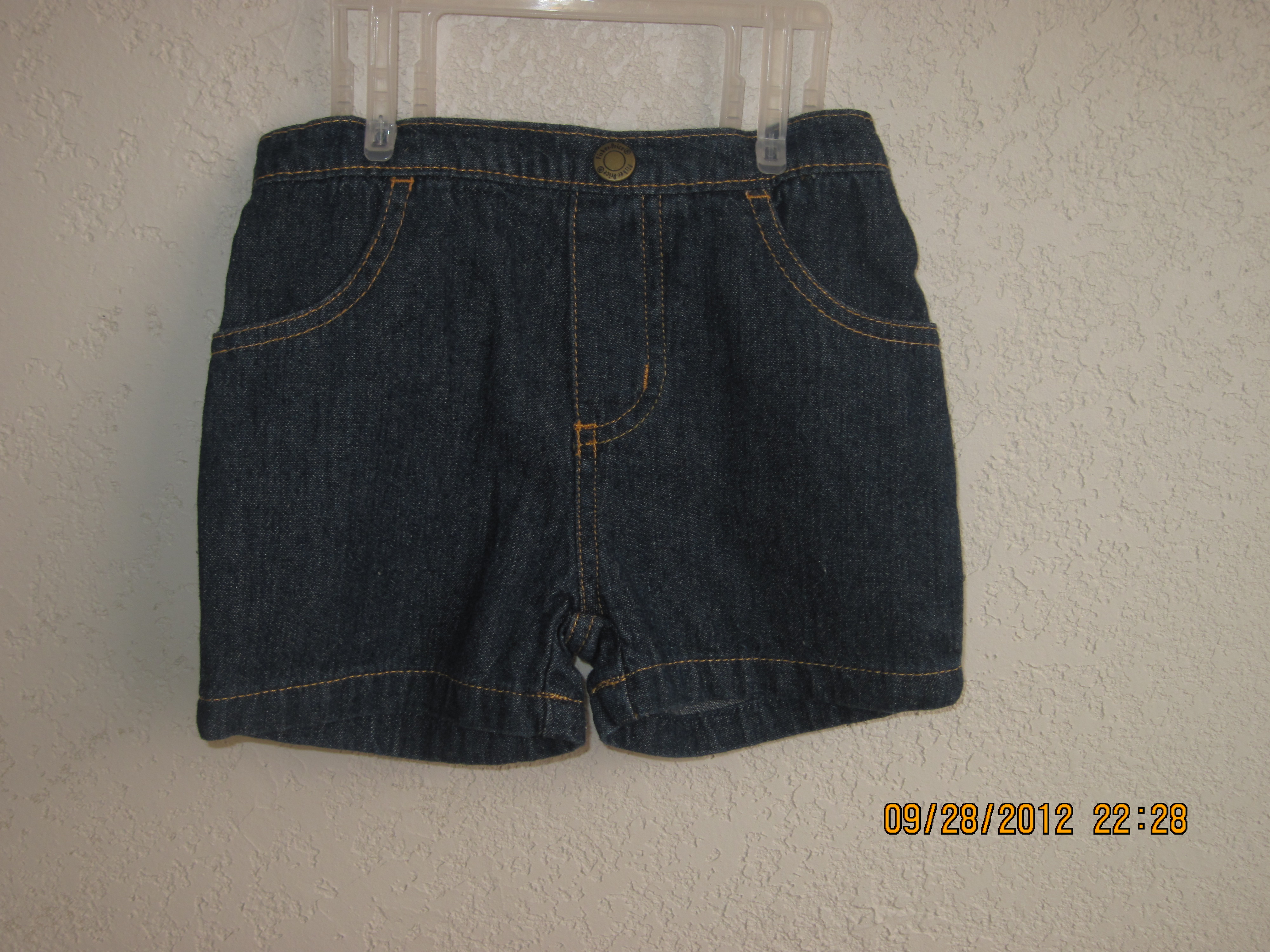 Fisher-Price Sz 12 Months Jean Shorts