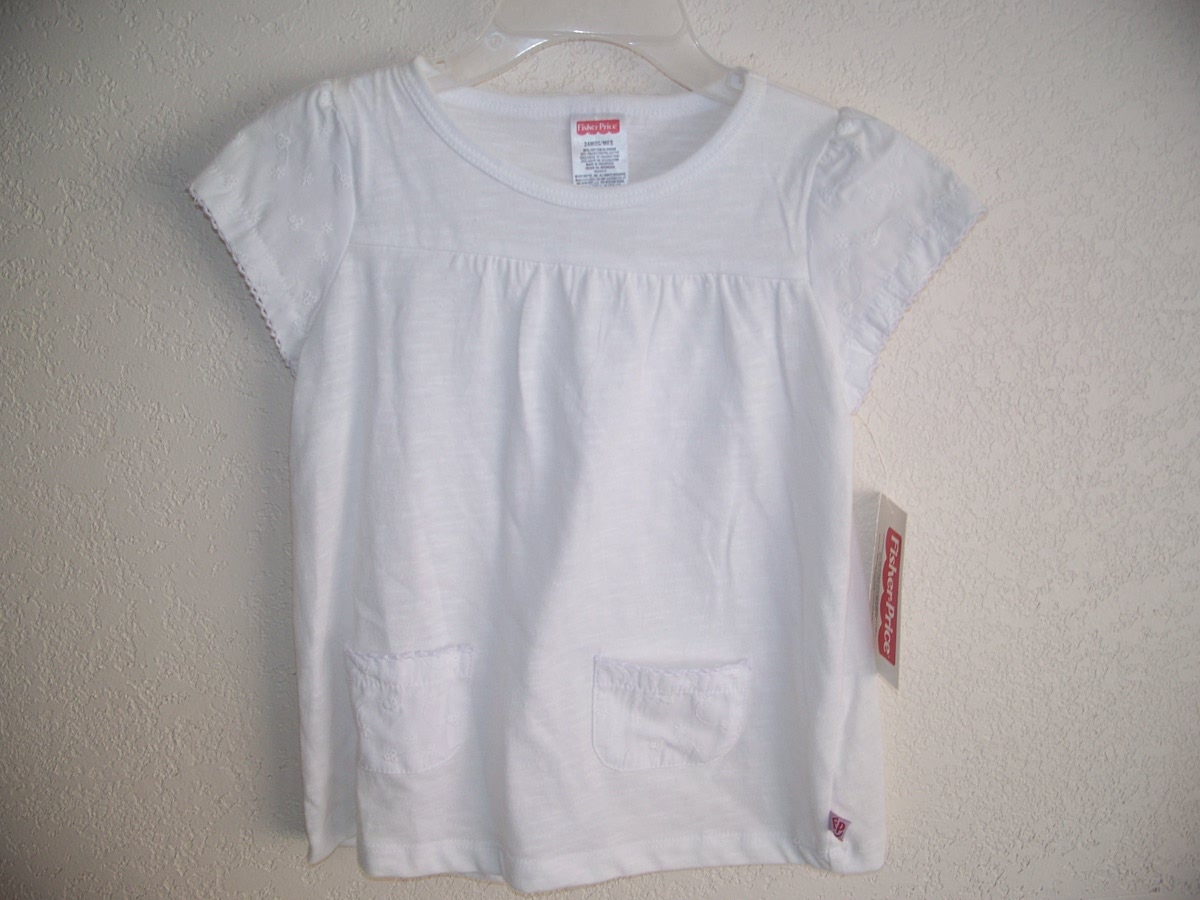 Fisher-Price Sz 18 Months White Shirt