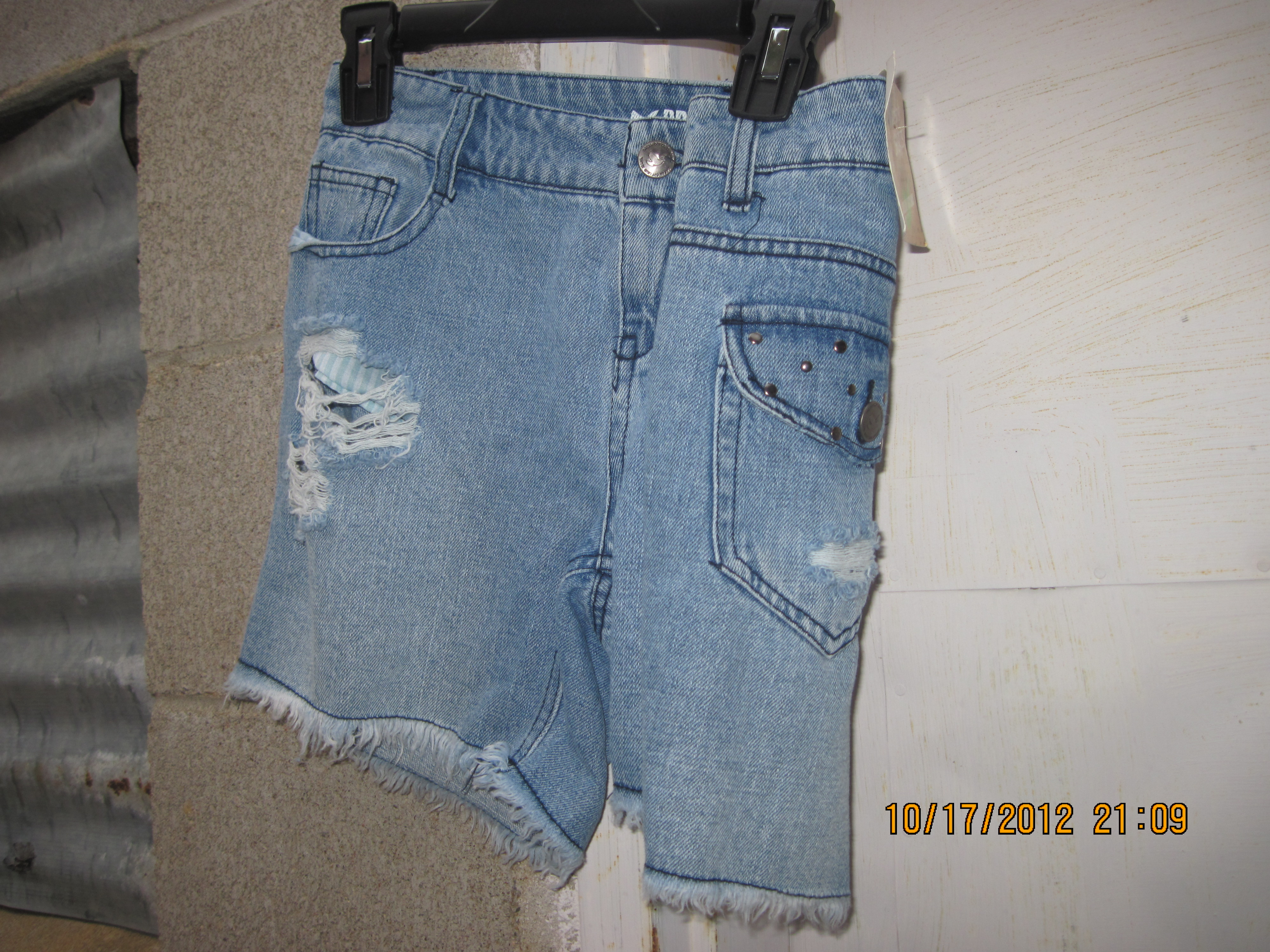 Dream Out Loud Sz 5 Juniors Jean Shorts