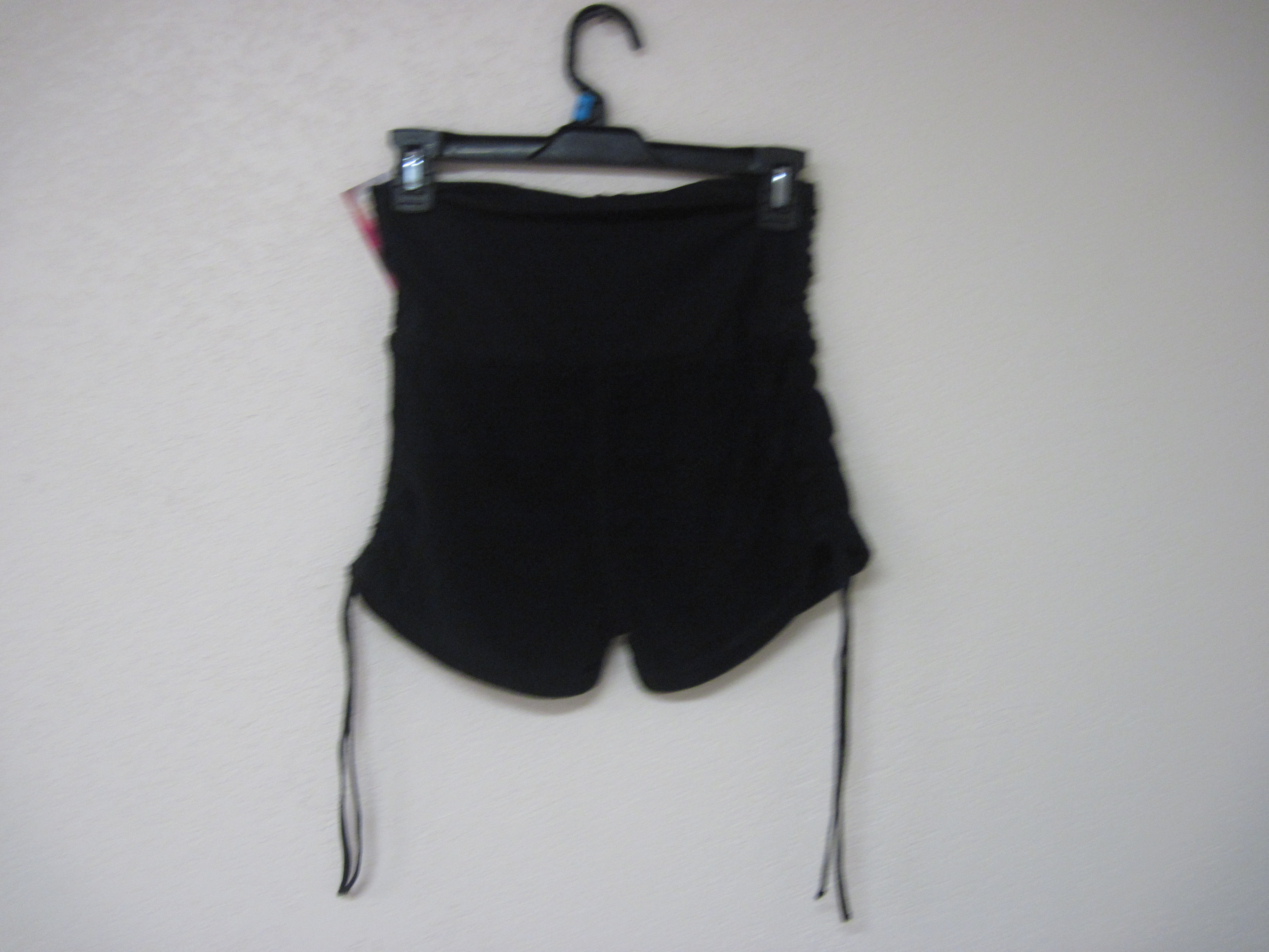 GLO Sz Small Juniors French Terry Shorts (black)