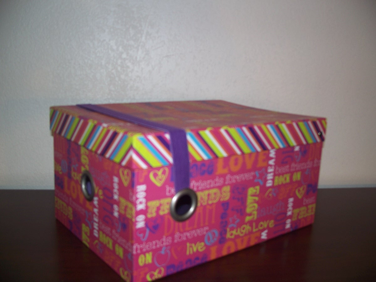 Purple Storage Box(BFFDReamlivelove, etc)