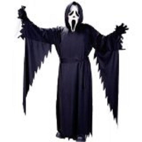 Child Classic Ghost Face Costume One Size Scre4m