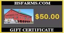 Gift Certificate $ 50.00