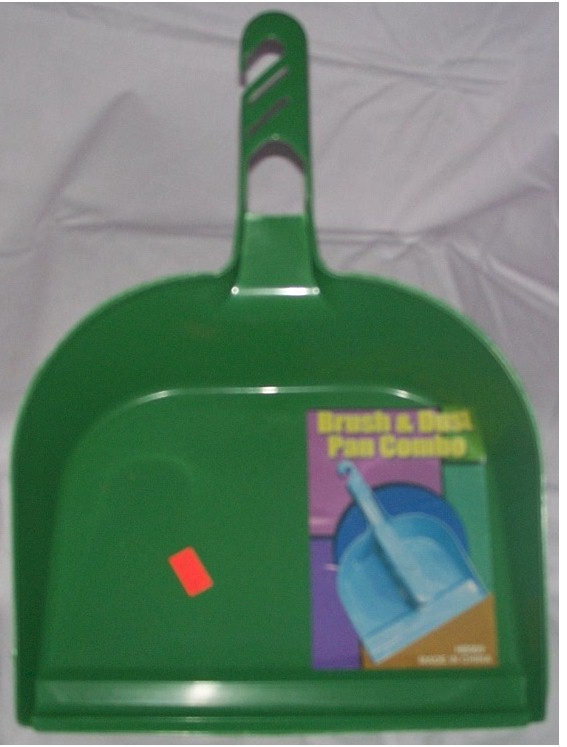 Green Dust Pan