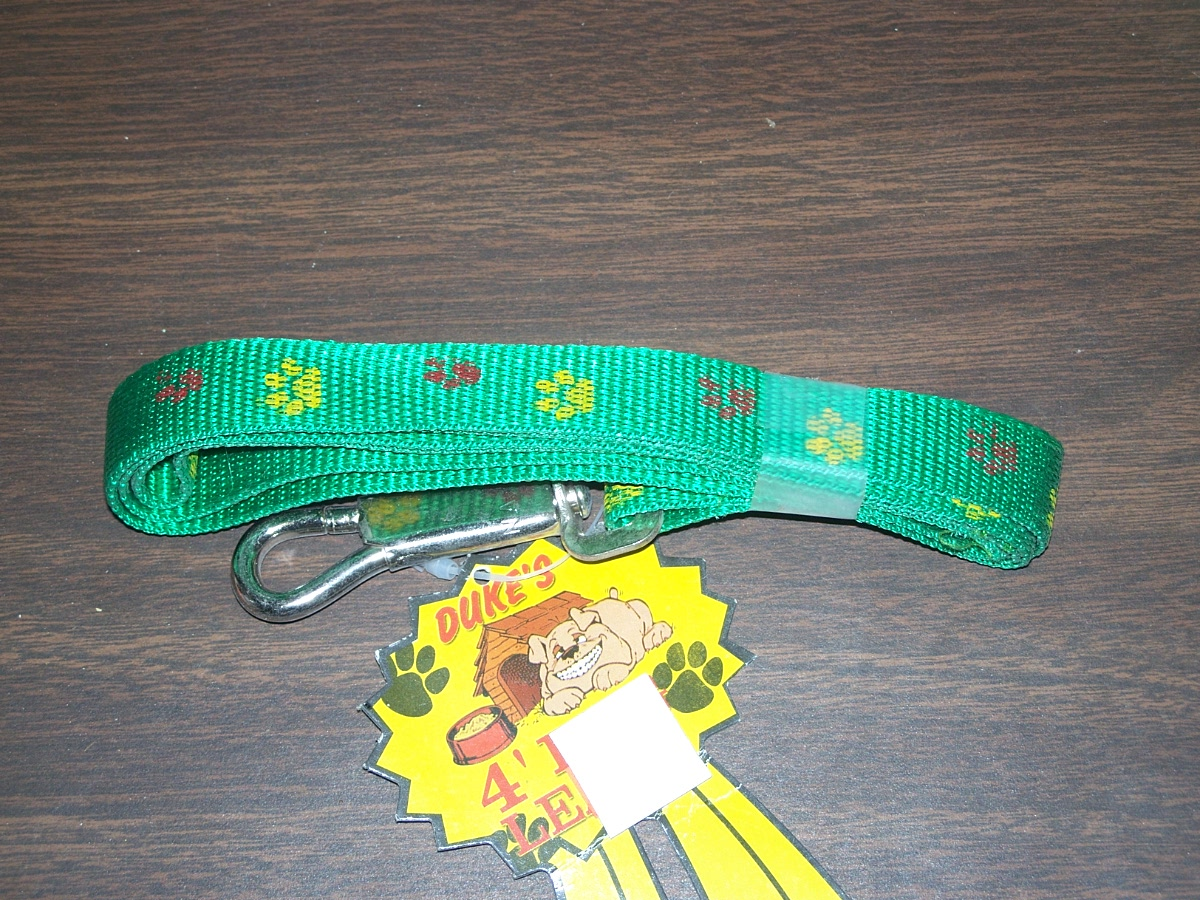 4' Dog Leash(green)