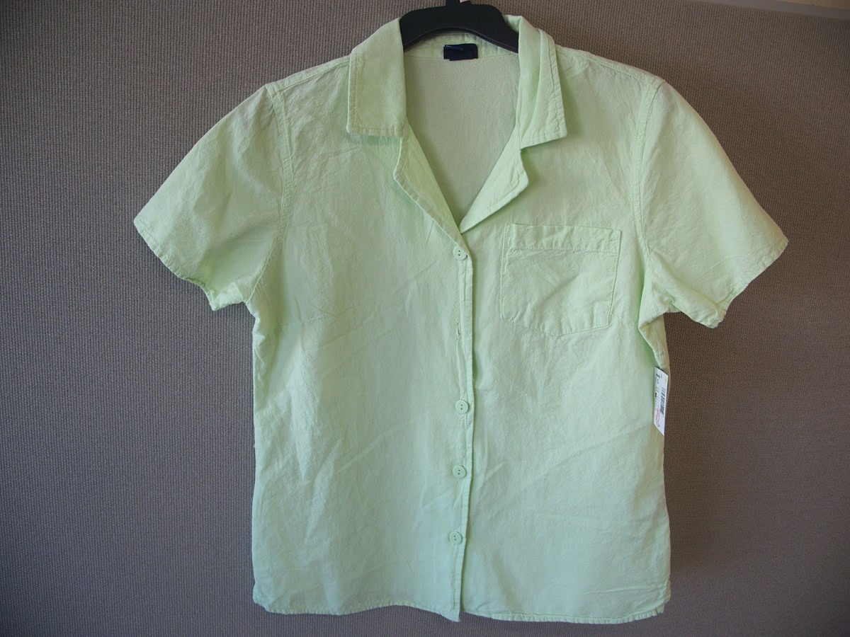Basic Editions Sz S 1 Pocket Campshirt (green)