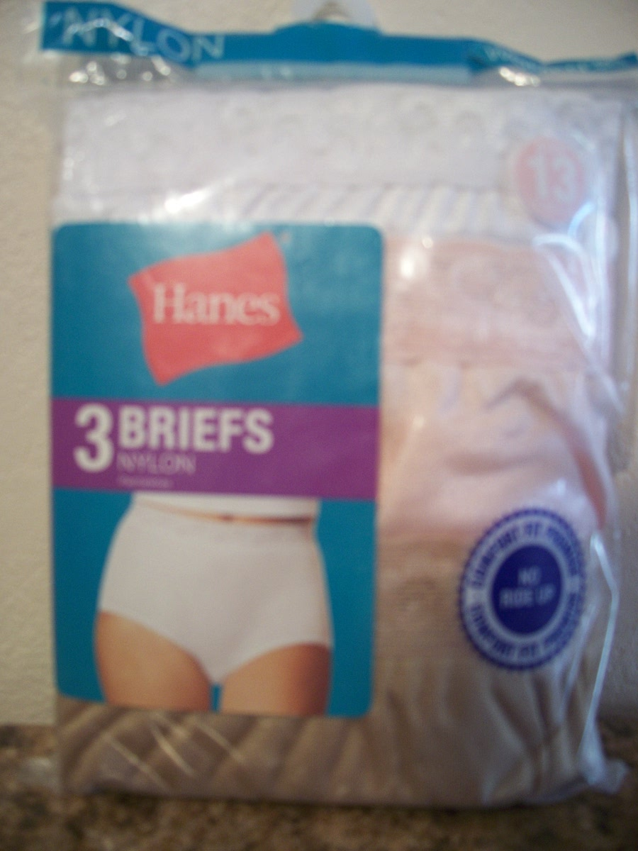 Hanes Briefs (white,tan,peach ) size 13