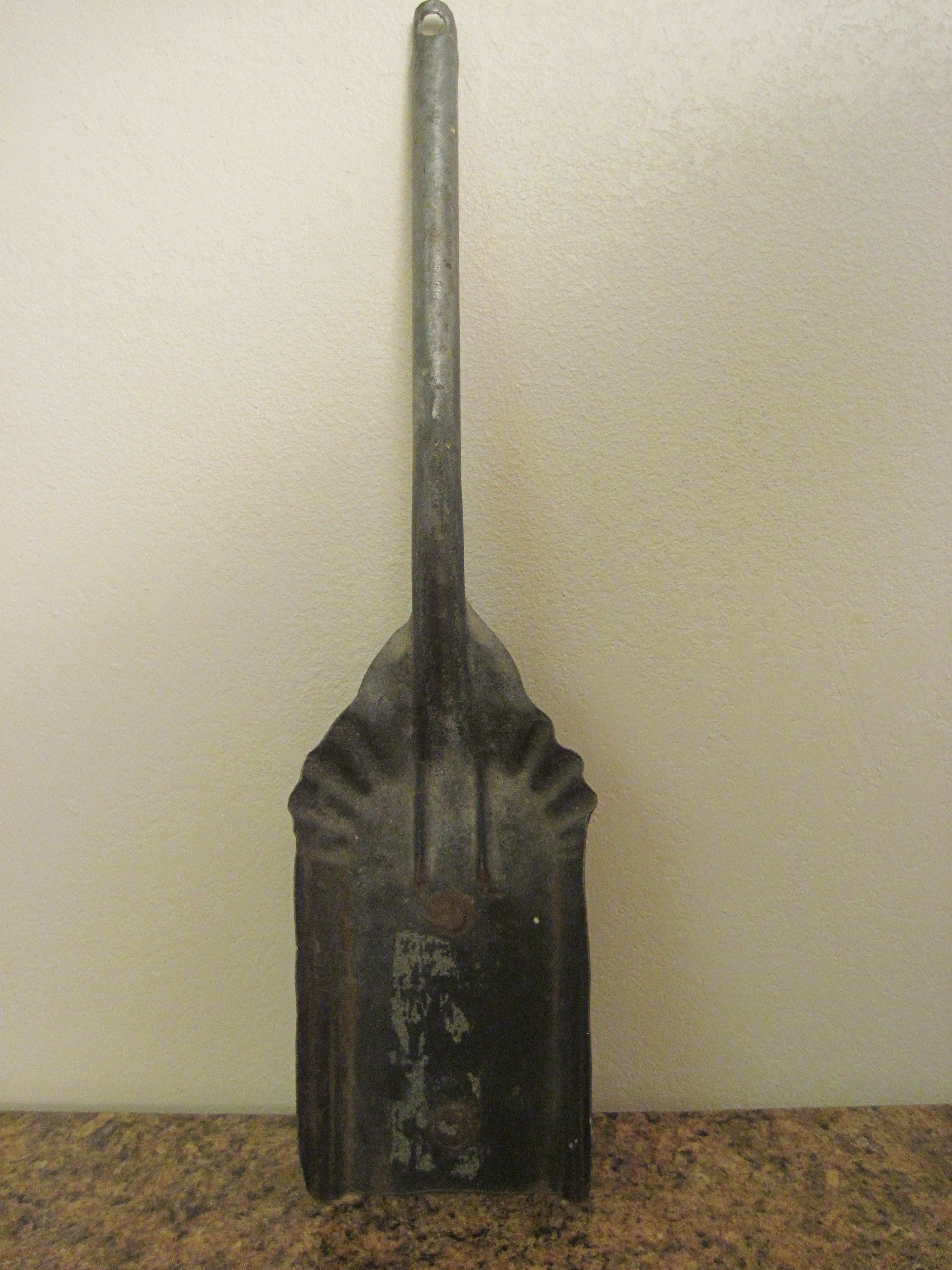 Vintage Old Hearth Fireplace Ash & Coal Shovel