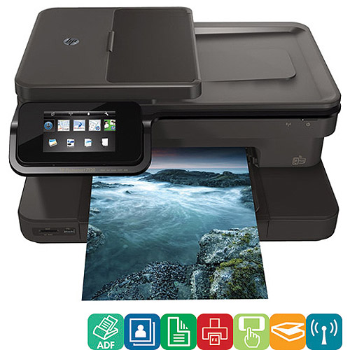 HP Photosmart 7520 All-In-One Inkjet Printer/Copier/Scanner/Fax