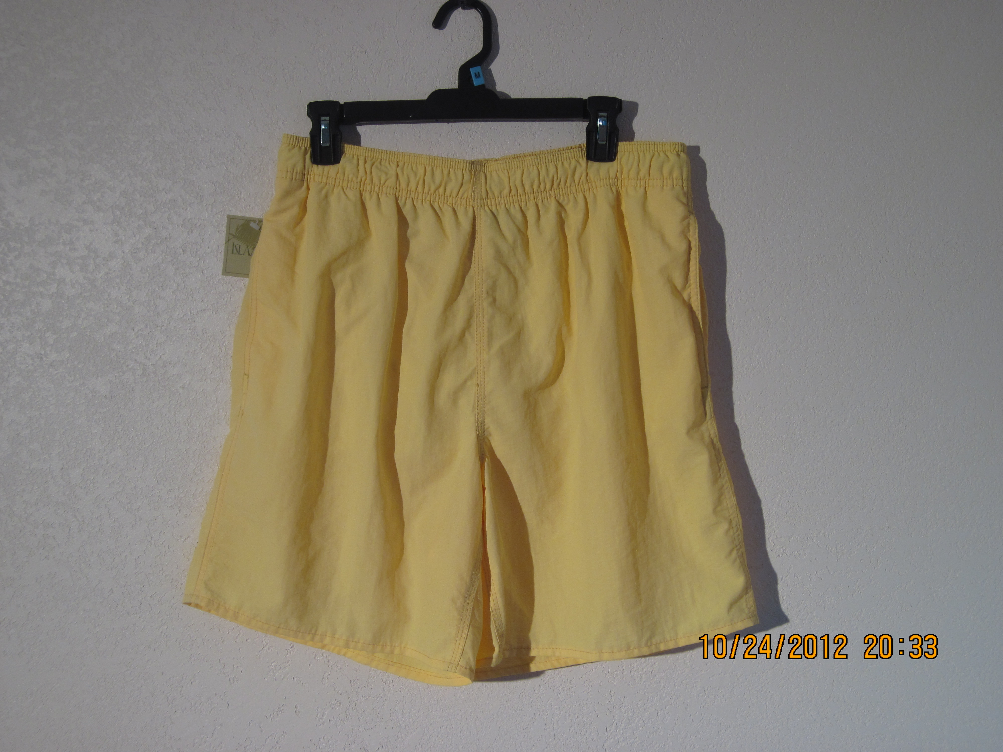 Islander Sz M Swimwear (yellow)