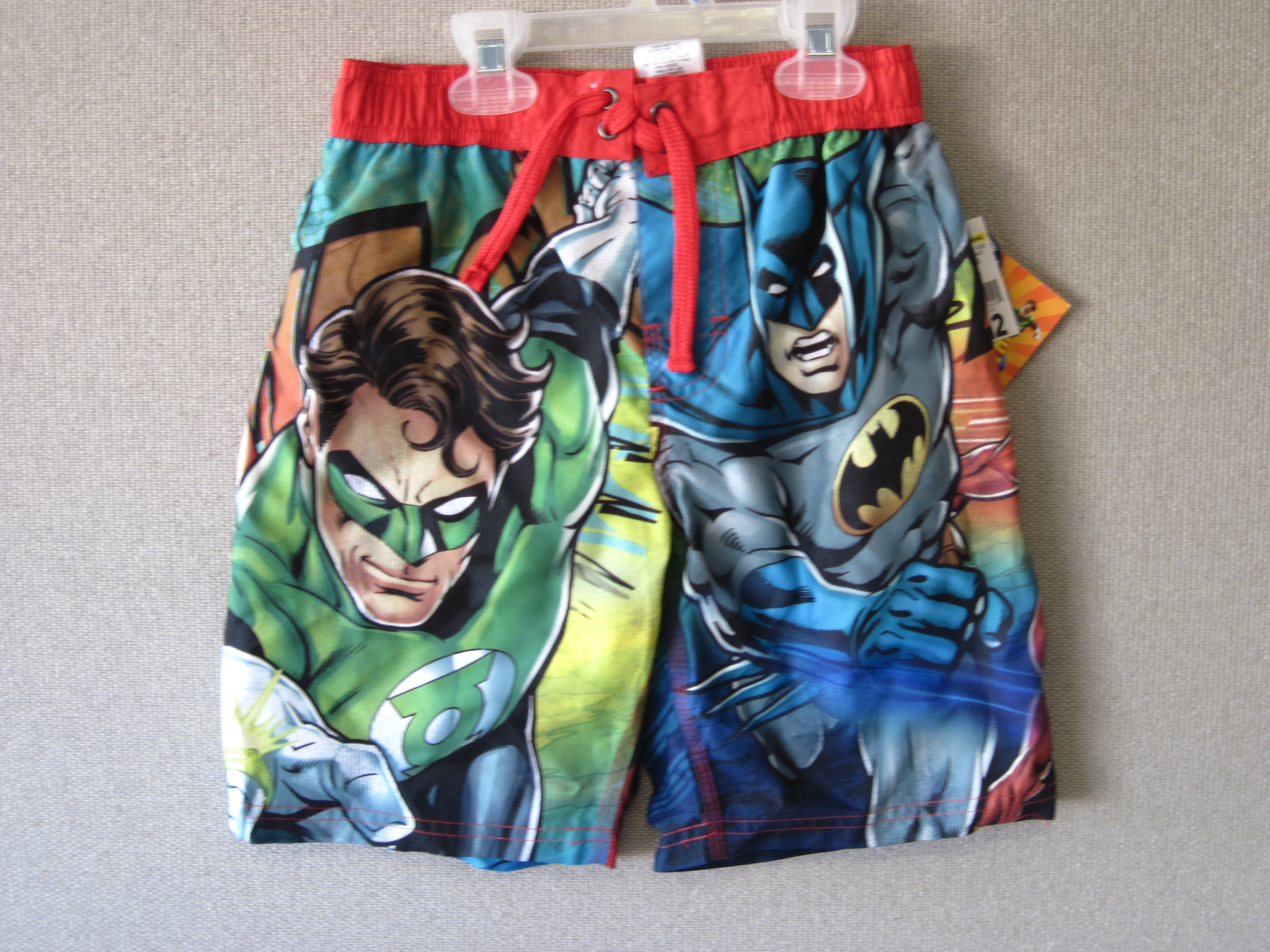 Justice League Sz 6 Swim Trunks
