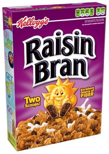 Kellogg's Raisin Bran Cereal 23.5-oz. (Box 3-Pack)