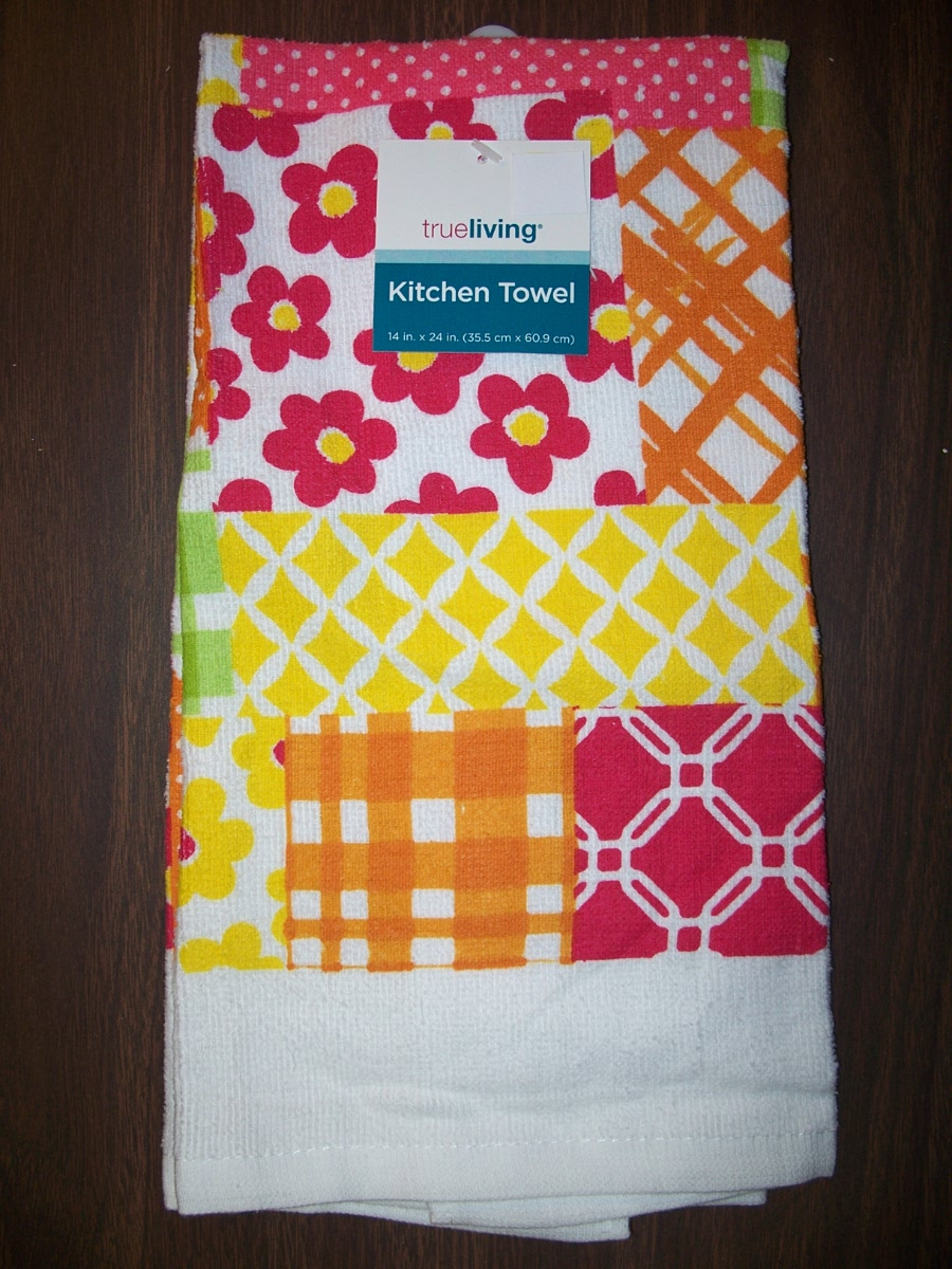 Kitchen Towel (orange,red,yellow,green )