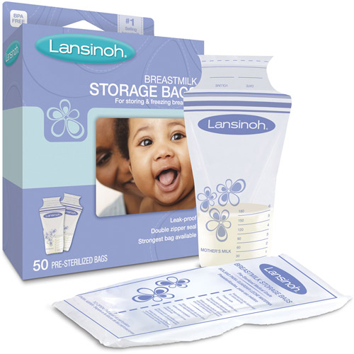 Lansinoh - Set of 50 Breast Milk Storage Bags