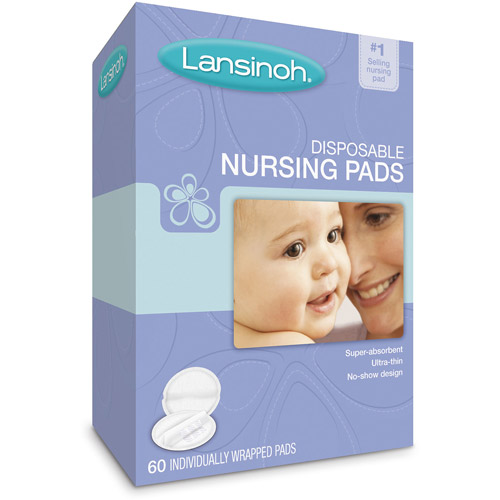 Lansinoh - Disposable Nursing Pads, 60-Count