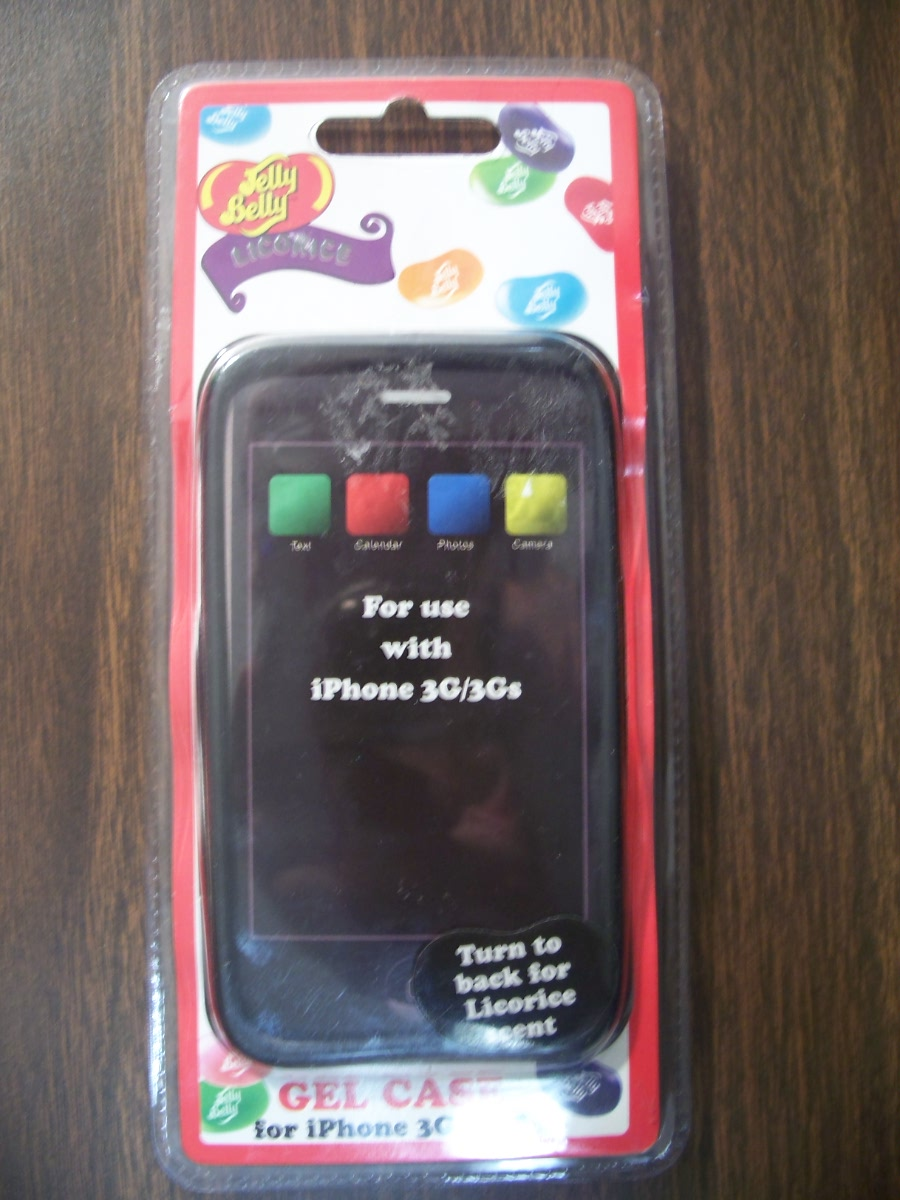Jelly Belly Gel Case for iphone 3G/3GS (licorice scent )