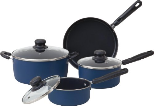 living plus carbon steel cookware 7 piece set
