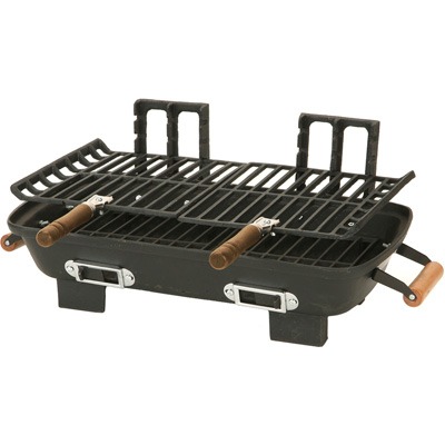 MarshAllan Cast Iron Hibachi Charcoal Grill