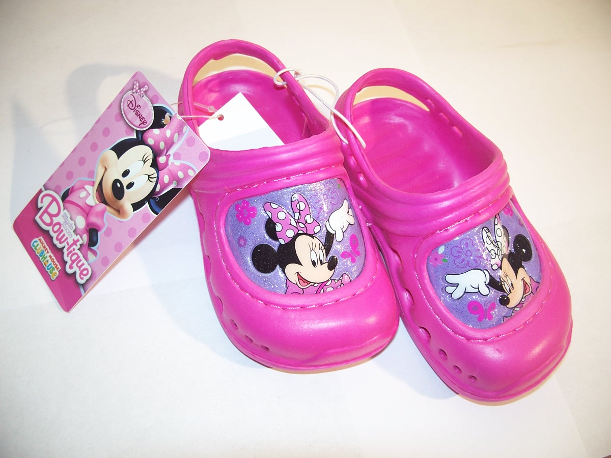 Disney Bow-tique Mini Mouse Sandles size 5