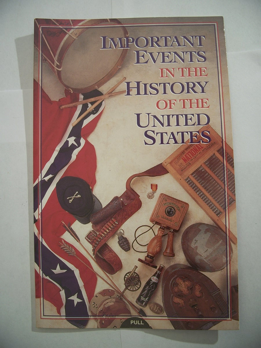 Important Events in the History of the United States Study Card