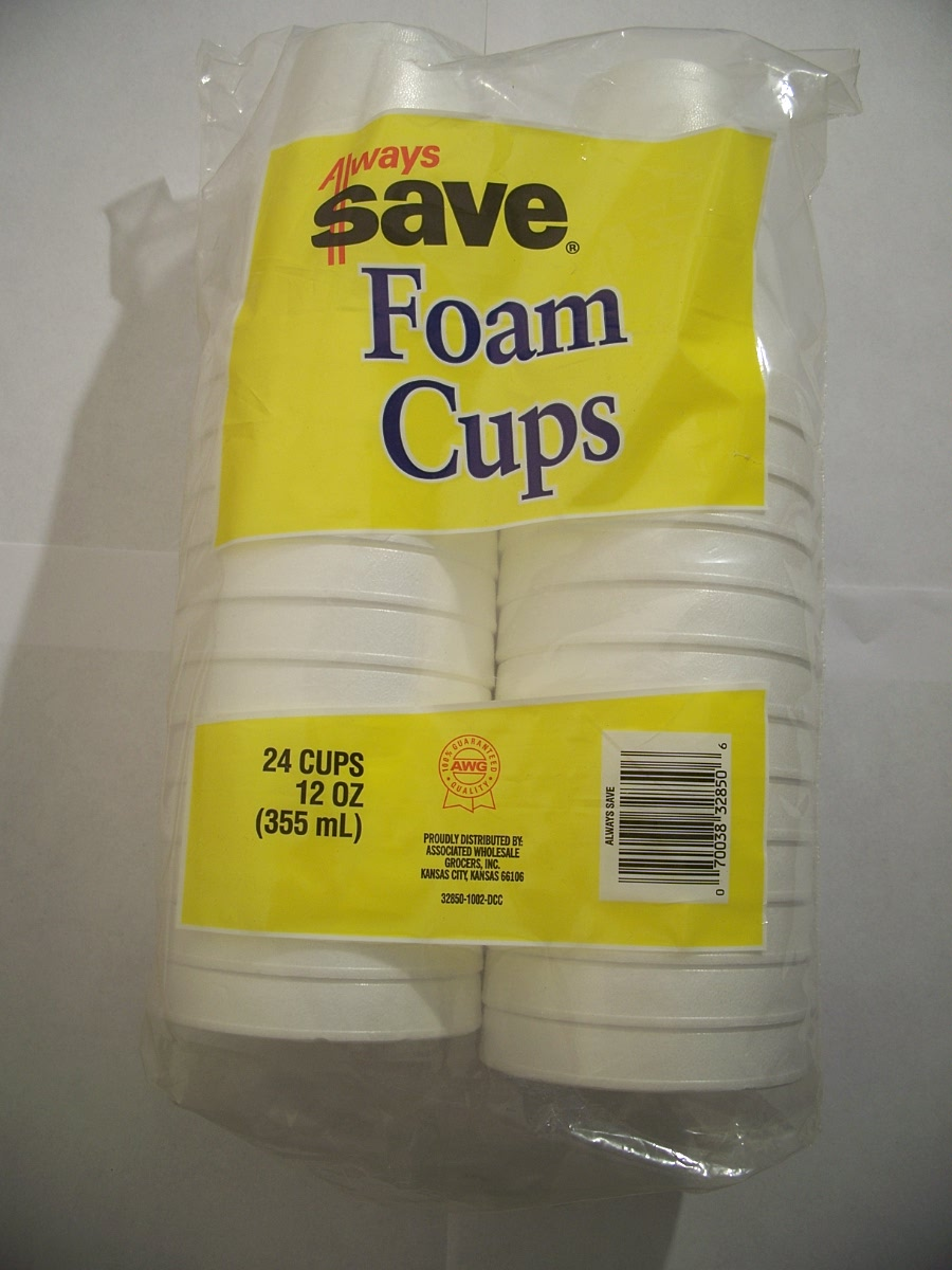 Always Save Foam Cups 24 ct. 12oz.