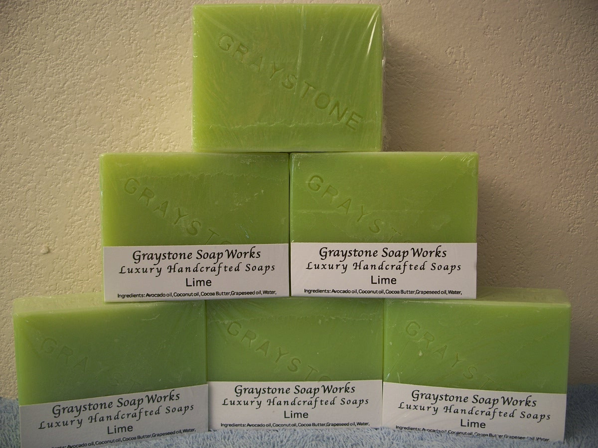 Graystone Soap Works Luxury Handcrafted Soaps - Lime