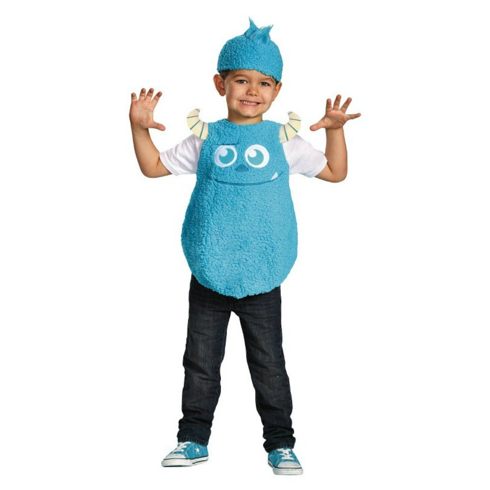 Disney Pixar Monsters University Kids Vest Costume (S/P (2T))