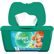 Pampers - Scented Soft Care Baby Wipes