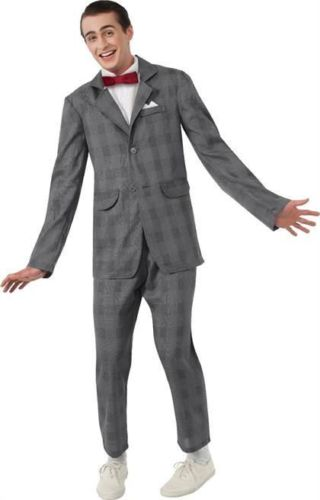 PEE WEE HERMAN SUIT and TIE HALLOWEEN COSTUME Adult Men size M