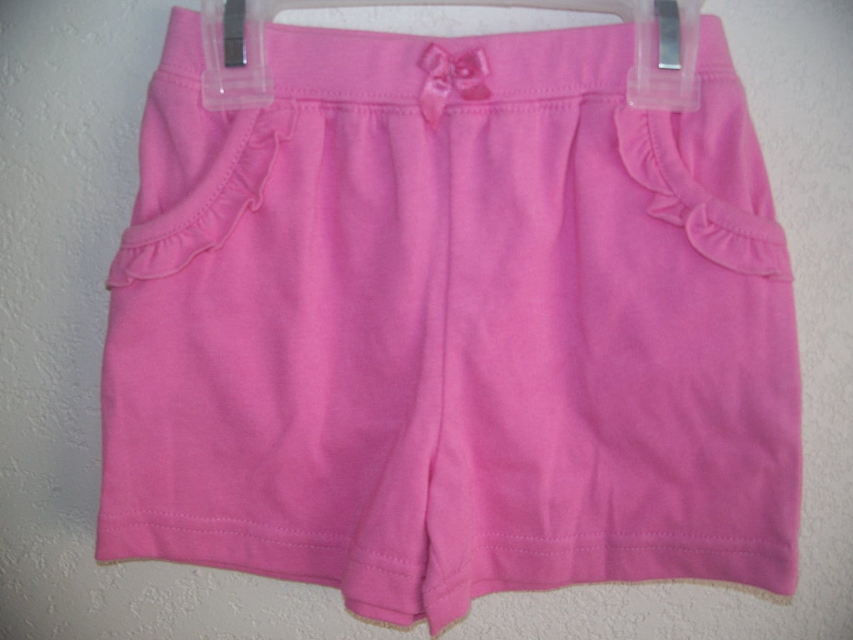 Fisher-Price Sz 12M Pink Pocketed Shorts