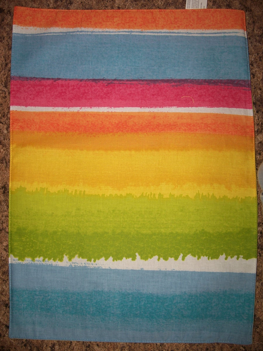 Placemat (Blue,White,Green,Yellow, Orange,Red, )