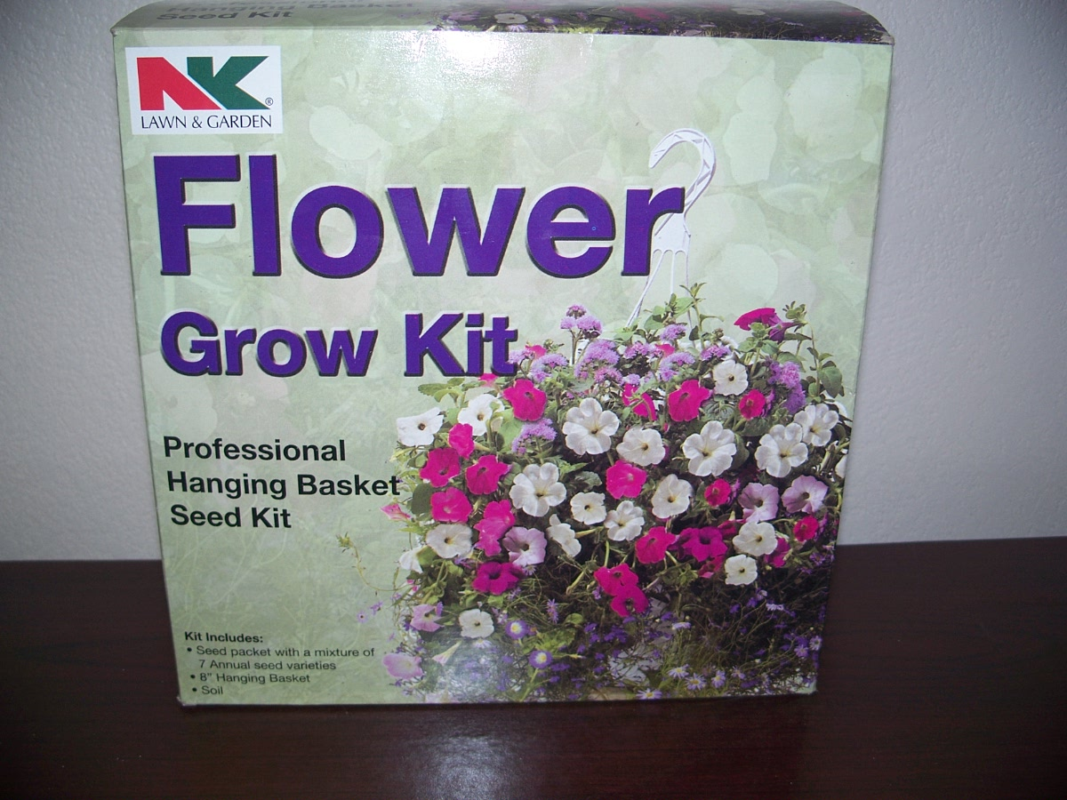 Professional Hanging Basket Seed Kit