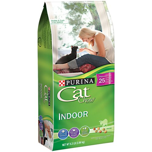 Purina Cat Chow Indoor Cat Food, 6.3 lbs