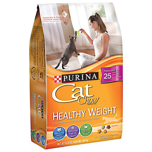 Purina Cat Chow Healthy Weight Cat Food, 50.4 oz