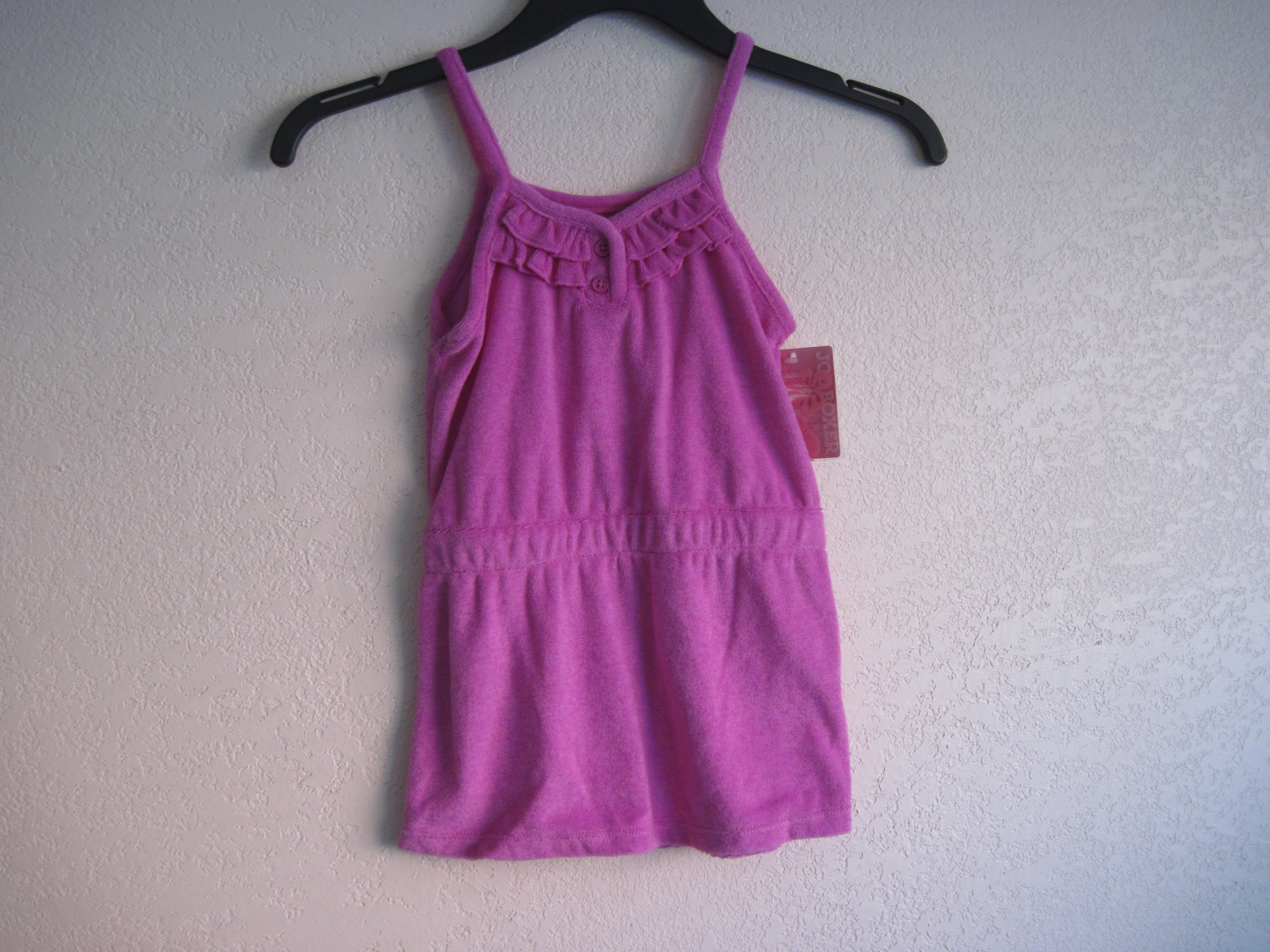 Joe Boxer Sz XS Terry Cover-Up (purple)