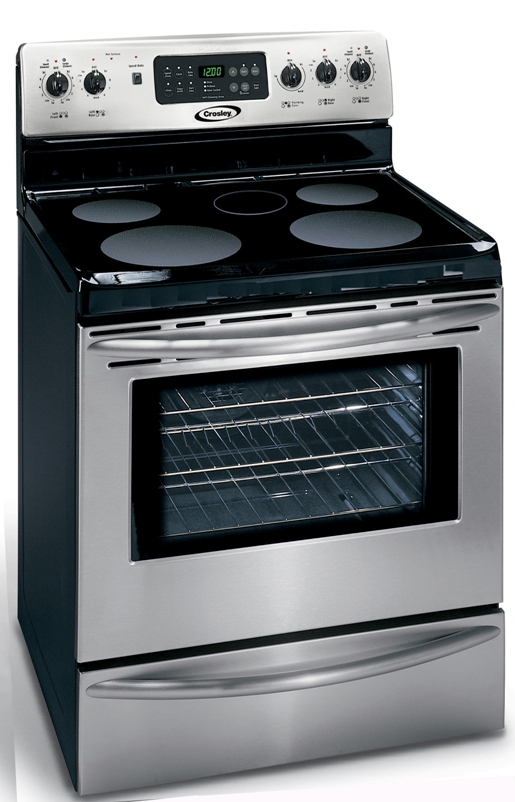 Crosley Electric Range Model 5.4 cu. ft CRE3895PS