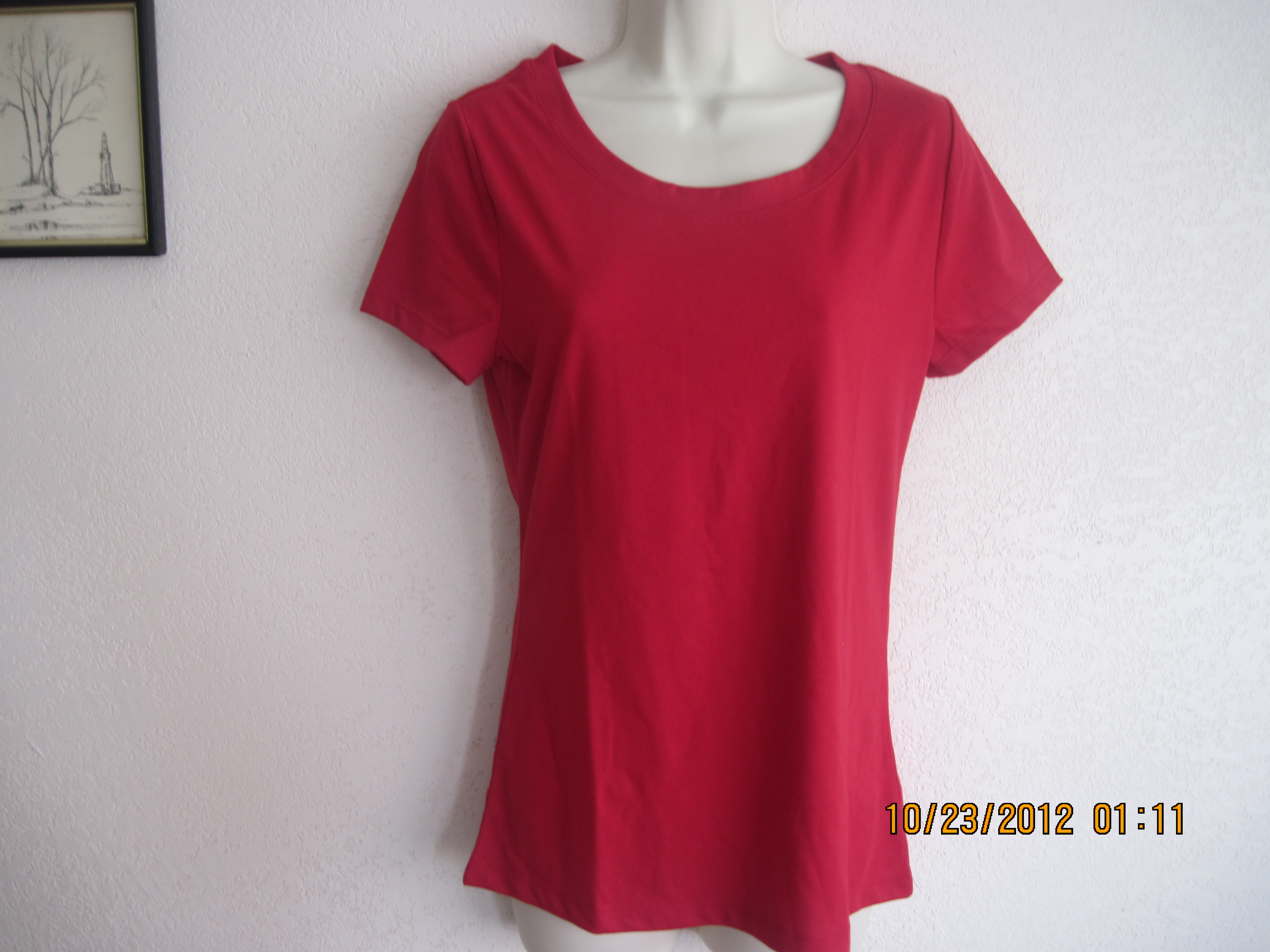 Bobbie Brooks Sz M 8-10 T-Shirt (Red)
