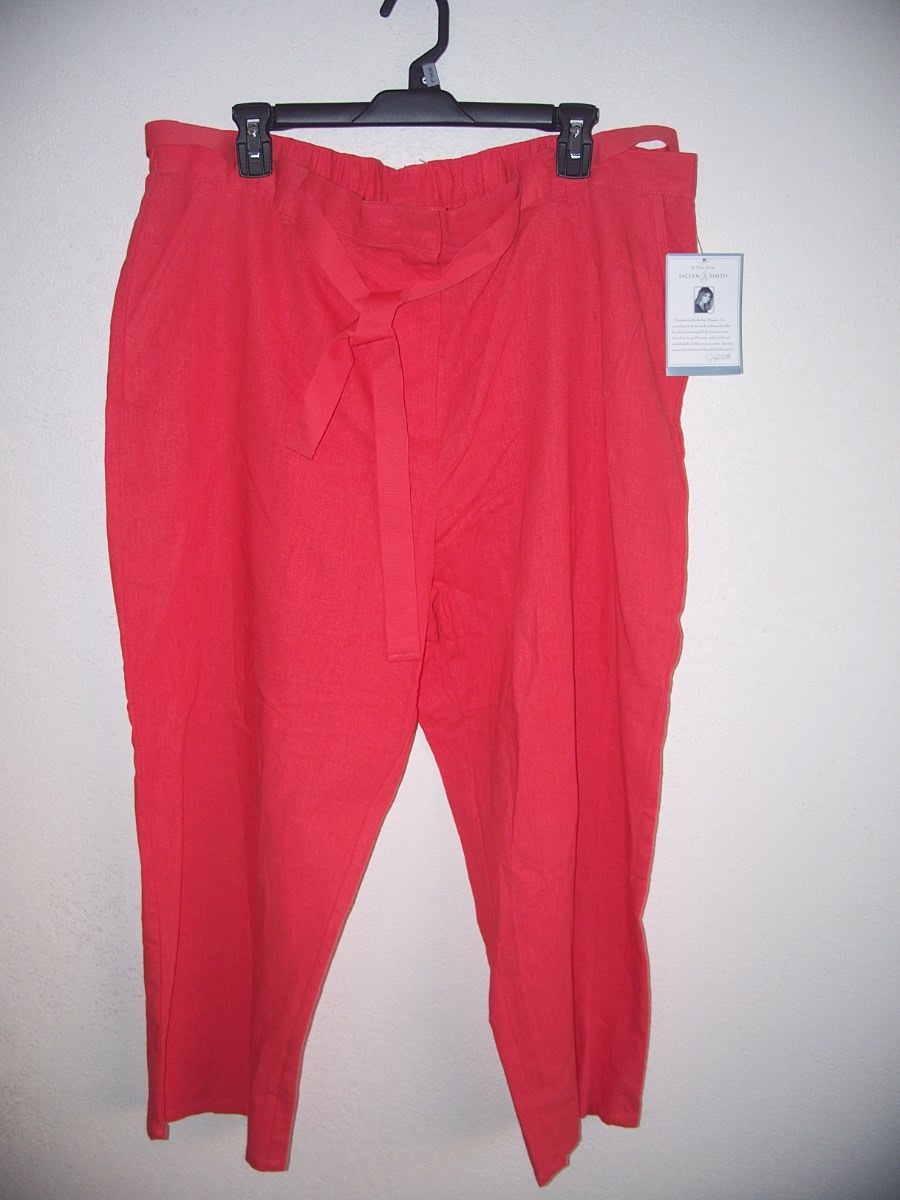 Jaclyn Smith Sz XXL Pants (Ruby)