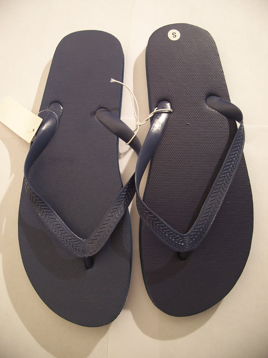 Flip Flops Black Size Medium 10 / 11