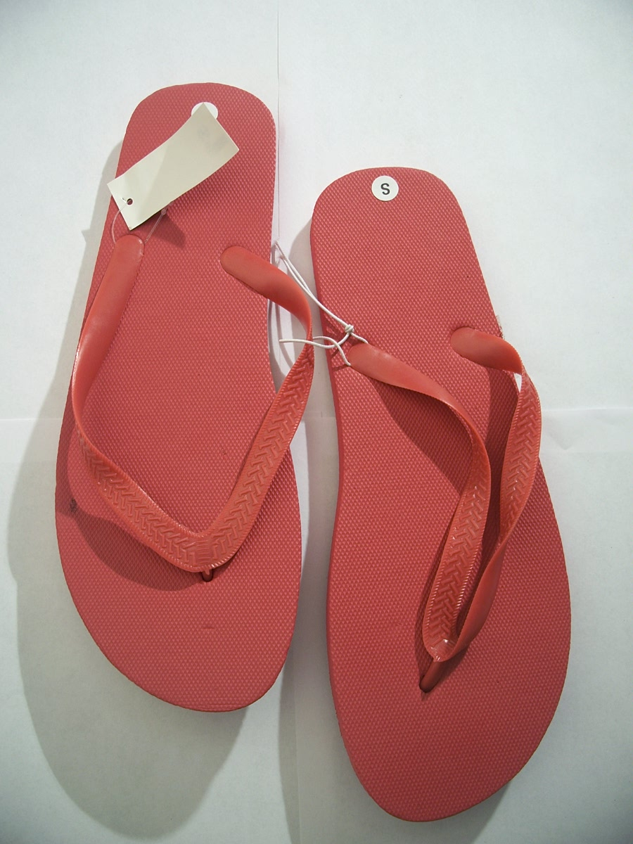 Flip Flops Dark Red Size Small 8 / 9