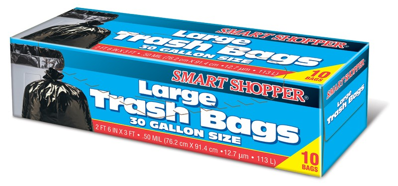 LARGE TRASH BAGS 30 GAL.
