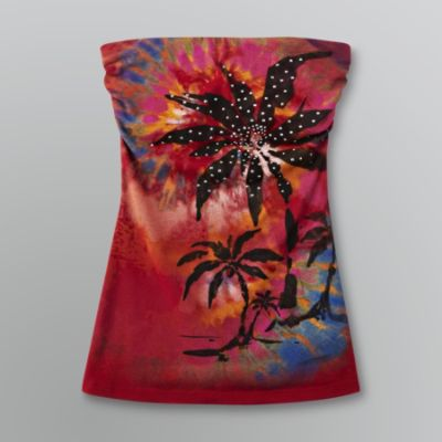 Bongo Sz M Juniors Tropical Red Tube Top