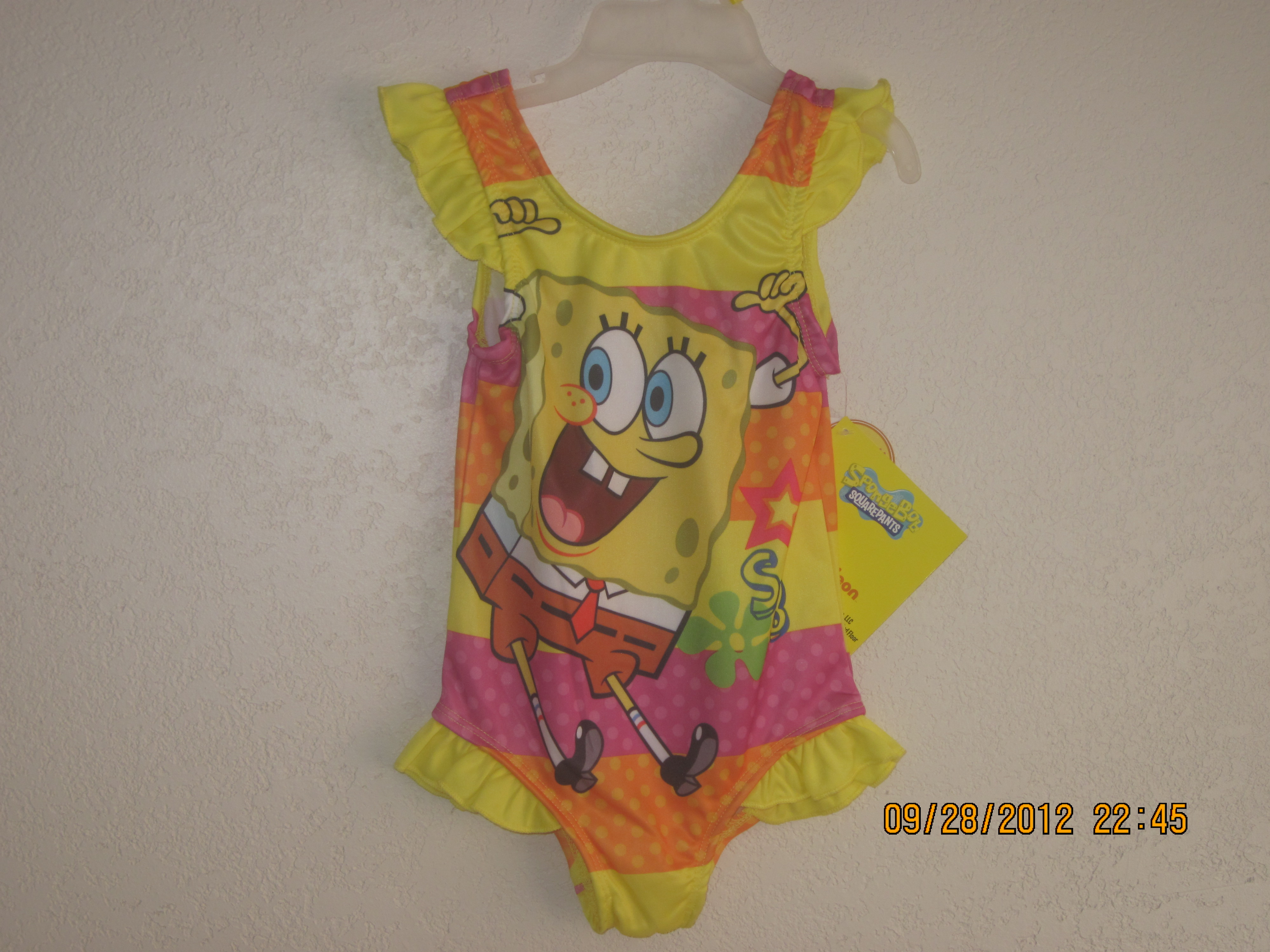 Spongebob SZ 2T Squarepants swim suit