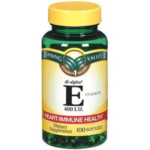 Spring Valley E Vitamin Heart/Immune Health Dietary Supplement 1