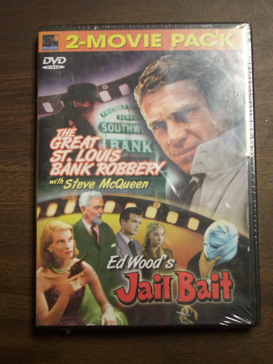 Double Feature~~ The Great St. Louis Bank Robbery / Jail Bait