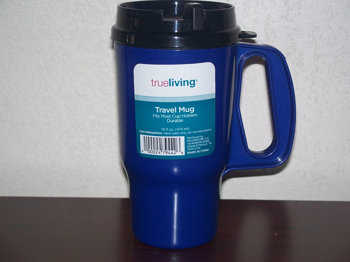 Travel Mug (blue in color)