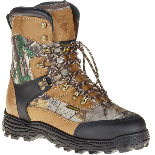 Herman Survivor Men's Leather and Camo Hunting Boots