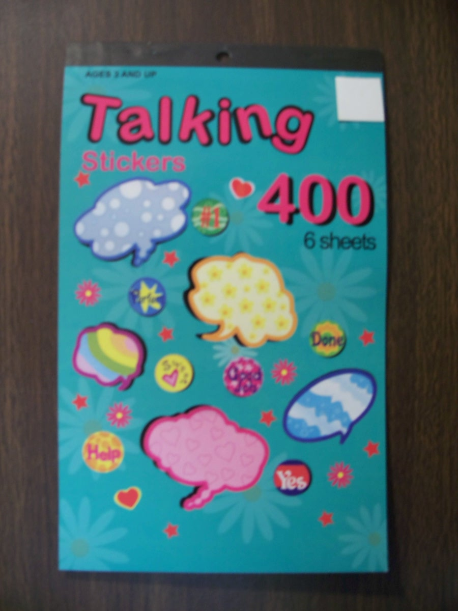 Talking Stickers 400