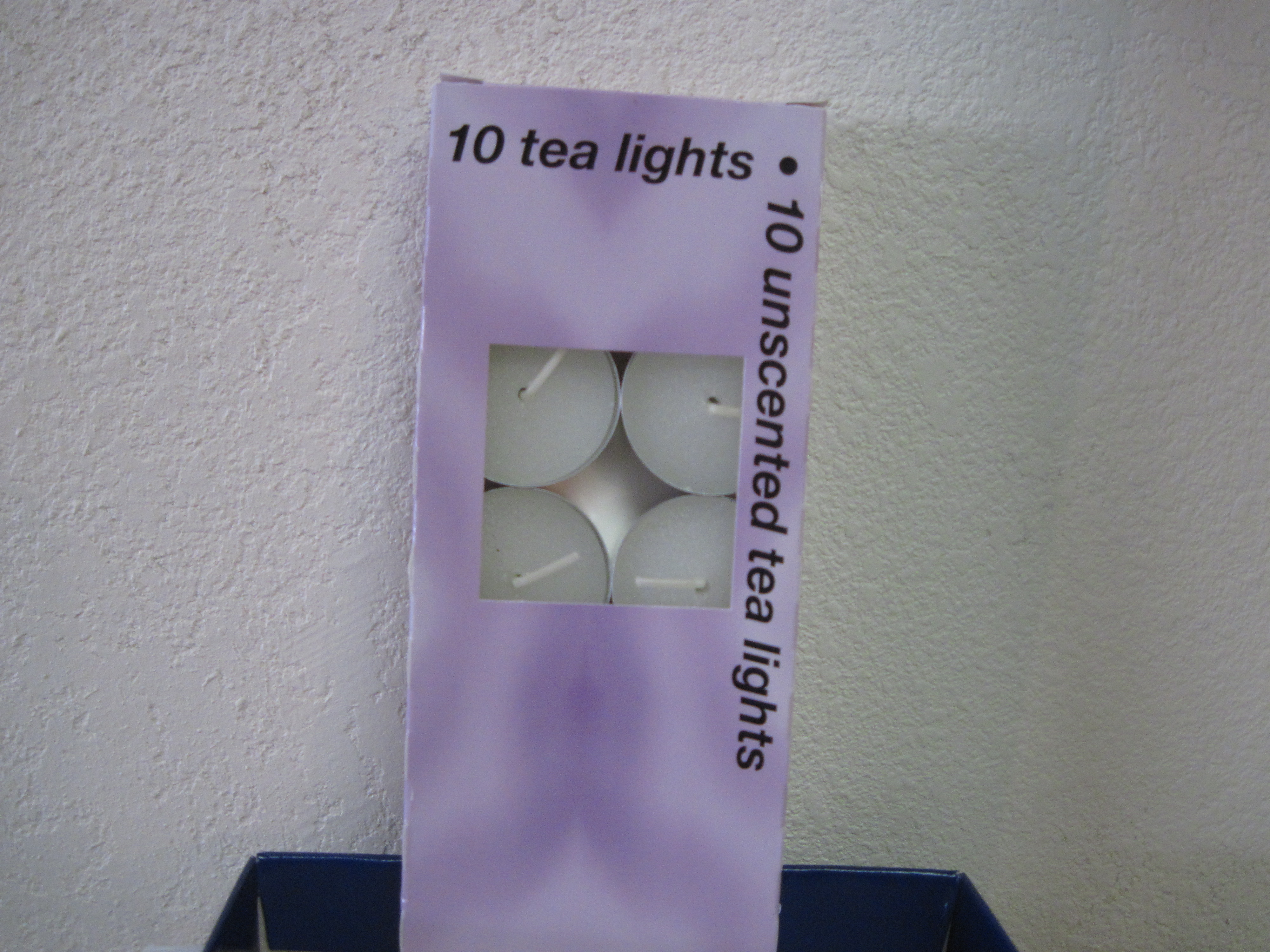 10 Unscented Tea Lights