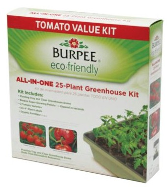 Burpee 25-Plant Eco-Friendly Greenhouse Tomato Kit